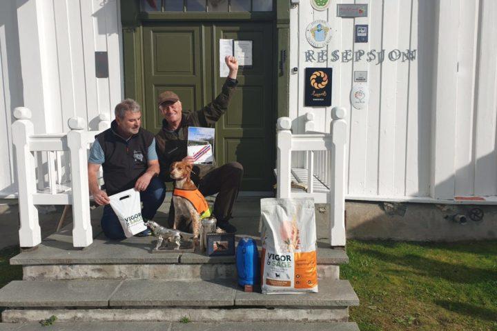 Orreskogen's G-happy vinner av Sølvhunden 2019