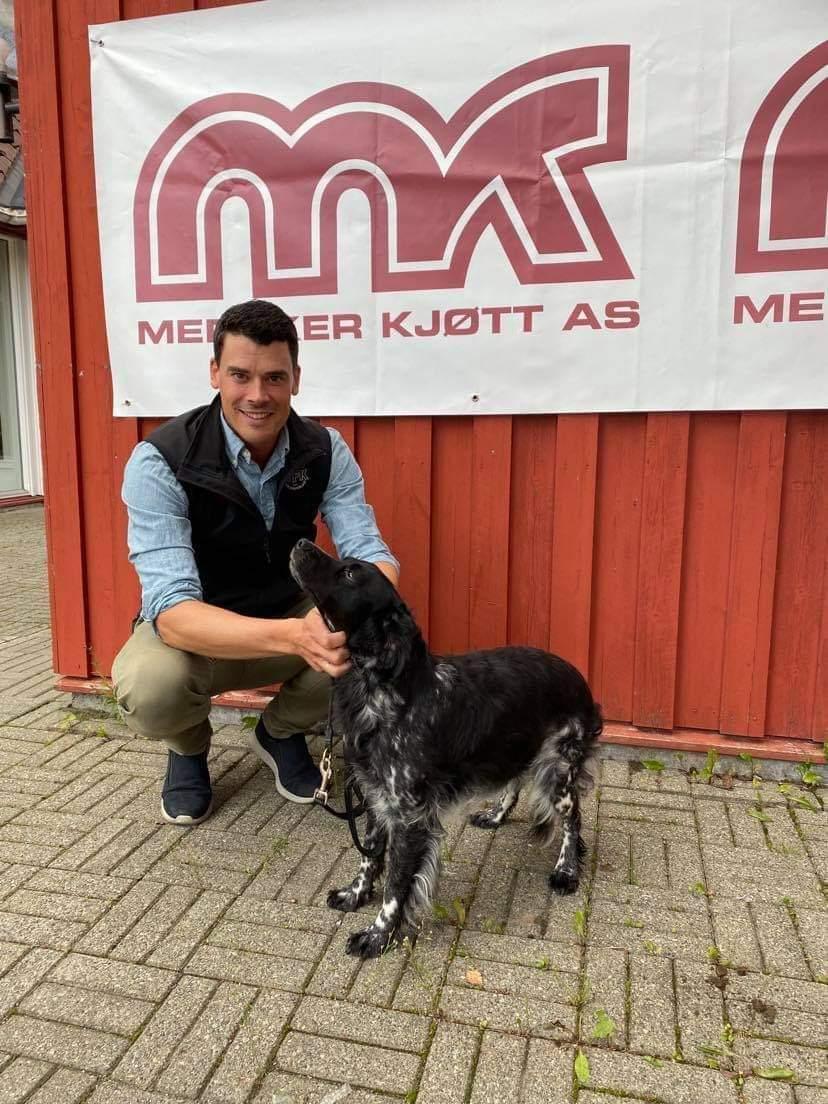 1.VK m/CK kval til Blackmolly og er dermed ny N JCH med E/F: Brian Johan Herje.