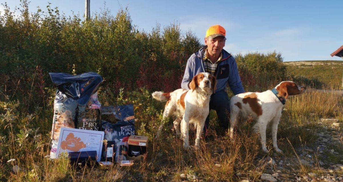Breton ble mest premierte rase og beste AK hund under Varangerprøven